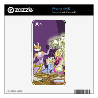 Felicia And The Sorceress' Apprentice Skin For iPhone 4