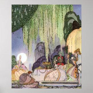 Felicia, Art Nouveau by Kay Nielsen Poster
