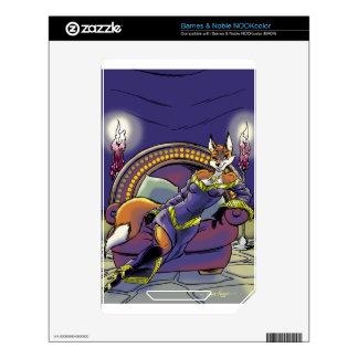 Felicia, Sorceress Of Katara NOOK Color Decals