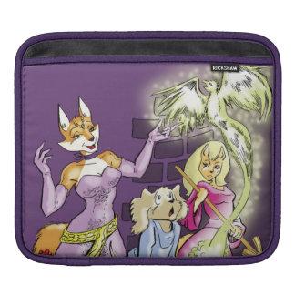 Felicia y el aprendiz de las brujas fundas para iPads