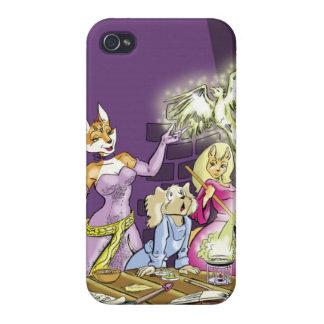 Felicia y el aprendiz de las brujas iPhone 4 carcasas