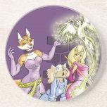 Felicia y el aprendiz de las brujas posavaso para bebida
