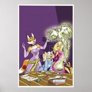 Felicia y el aprendiz de las brujas póster