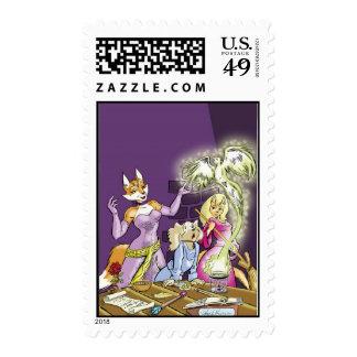 Felicia y el aprendiz de las brujas timbres postales