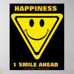 Felicidad, 1 sonrisa a continuación posters