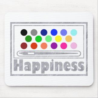 Felicidad: Acuarelas Alfombrilla De Ratón