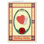 Felicidad - amor del bebé tarjeta de felicitación