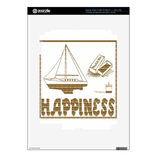 Felicidad: Barco modelo iPad 3 Skins
