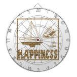 Felicidad: Barco modelo Tablero De Dardos