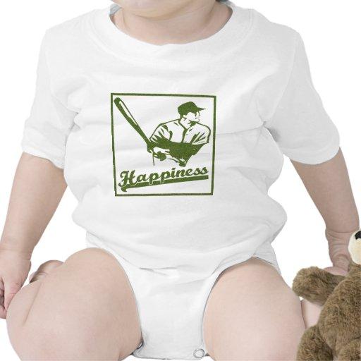 Felicidad: Béisbol Camiseta