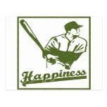 Felicidad: Béisbol Tarjetas Postales