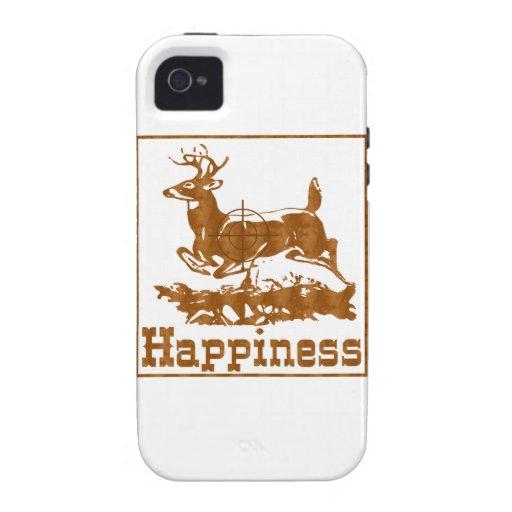 Felicidad: Búsqueda Vibe iPhone 4 Carcasa