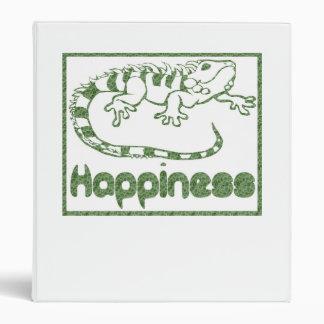 Felicidad: Carpeta de los lagartos