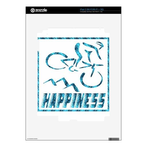 Felicidad: Ciclo Calcomanía Para iPad 2
