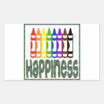Felicidad: Creyones Etiqueta