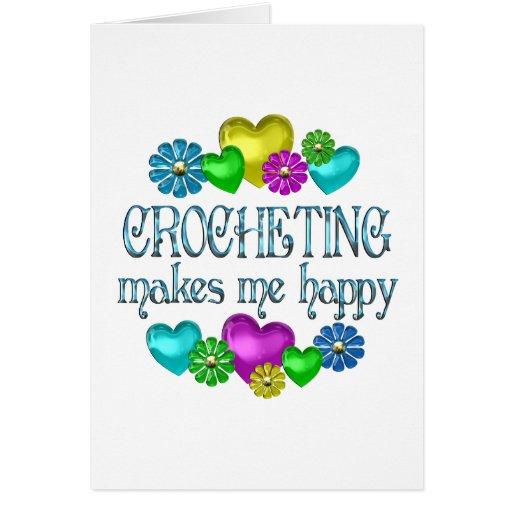 Felicidad Crocheting Felicitacion