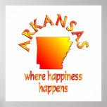 Felicidad de ARKANSAS Posters