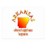 Felicidad de ARKANSAS Tarjetas Postales
