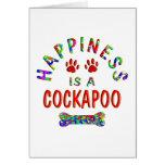 Felicidad de Cockapoo Felicitaciones
