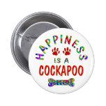 Felicidad de Cockapoo Pins