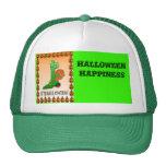 Felicidad de Halloween Gorras