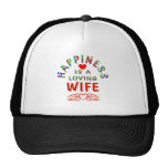 Felicidad de la esposa gorra