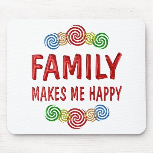 Felicidad de la familia alfombrilla de raton