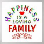 Felicidad de la familia poster