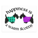 Felicidad de Terrier del escocés Postal