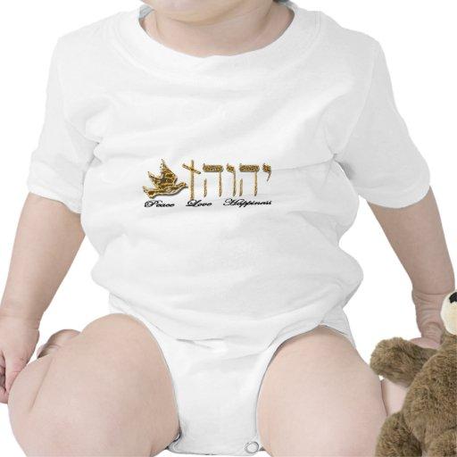 Felicidad del amor de la paz camisetas