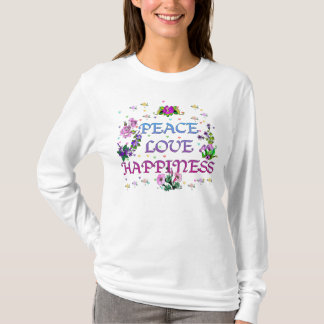 Felicidad del amor de la paz playera