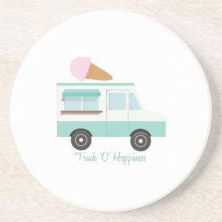 Felicidad del camión O Posavasos Manualidades