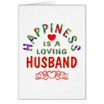 Felicidad del marido felicitacion