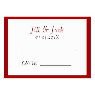 Felicidad doble • Cuadrado • Coloque las tarjetas Tarjetas De Visita Grandes