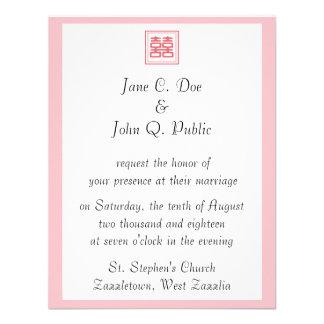 Felicidad doble • Cuadrado Invitacion Personal