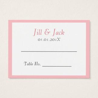 Felicidad doble • Redondo • Coloque las tarjetas Tarjetas De Visita Grandes