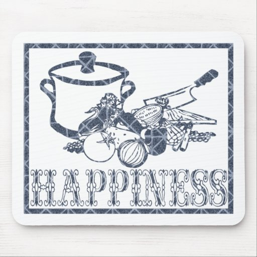 Felicidad: El cocinar Alfombrillas De Ratones
