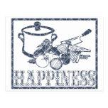 Felicidad: El cocinar Postales