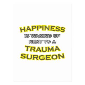 Felicidad. El despertar. Cirujano del trauma Tarjetas Postales