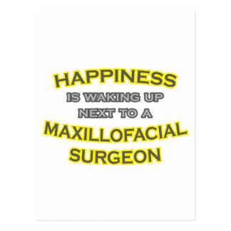 Felicidad El despertar Cirujano maxilofacial Tarjetas Postales