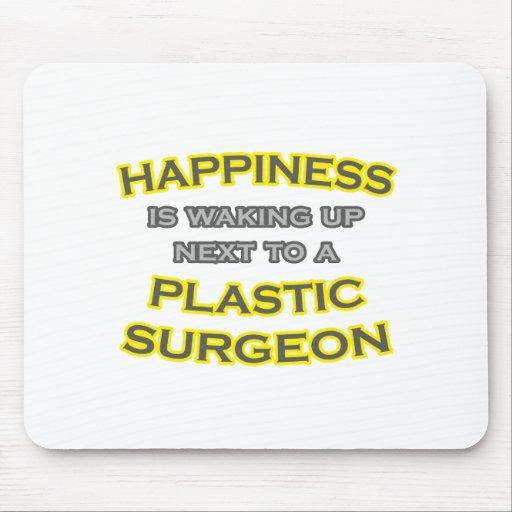 Felicidad. El despertar. Cirujano plástico Tapetes De Ratones