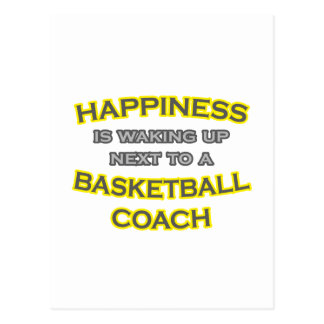 Felicidad. El despertar. Entrenador de béisbol Tarjeta Postal