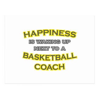 Felicidad. El despertar. Entrenador de béisbol Postales