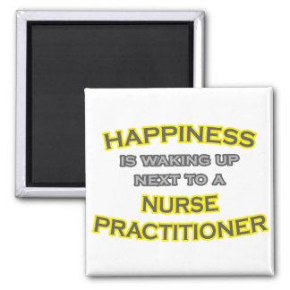 Felicidad El despertar Médico de la enfermera Imán De Frigorífico