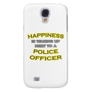 Felicidad. El despertar. Oficial de policía Samsung Galaxy S4 Cover