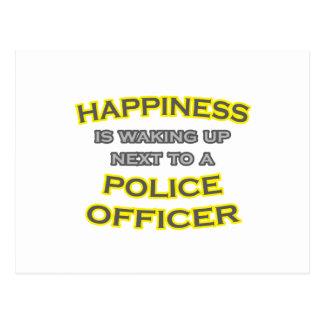 Felicidad. El despertar. Oficial de policía Postal