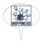 Felicidad: El rodar Figura Para Tarta