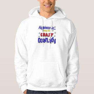 Felicidad Goatlady loco Jersey Encapuchado