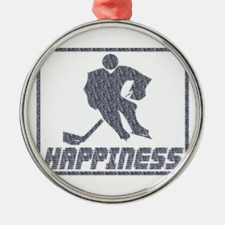 Felicidad: Hockey Adornos