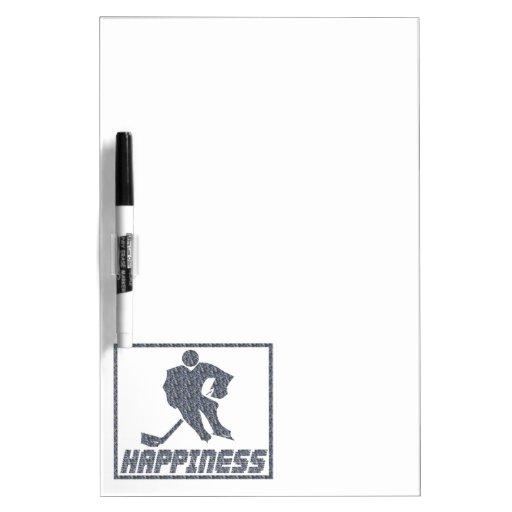 Felicidad: Hockey Pizarra Blanca